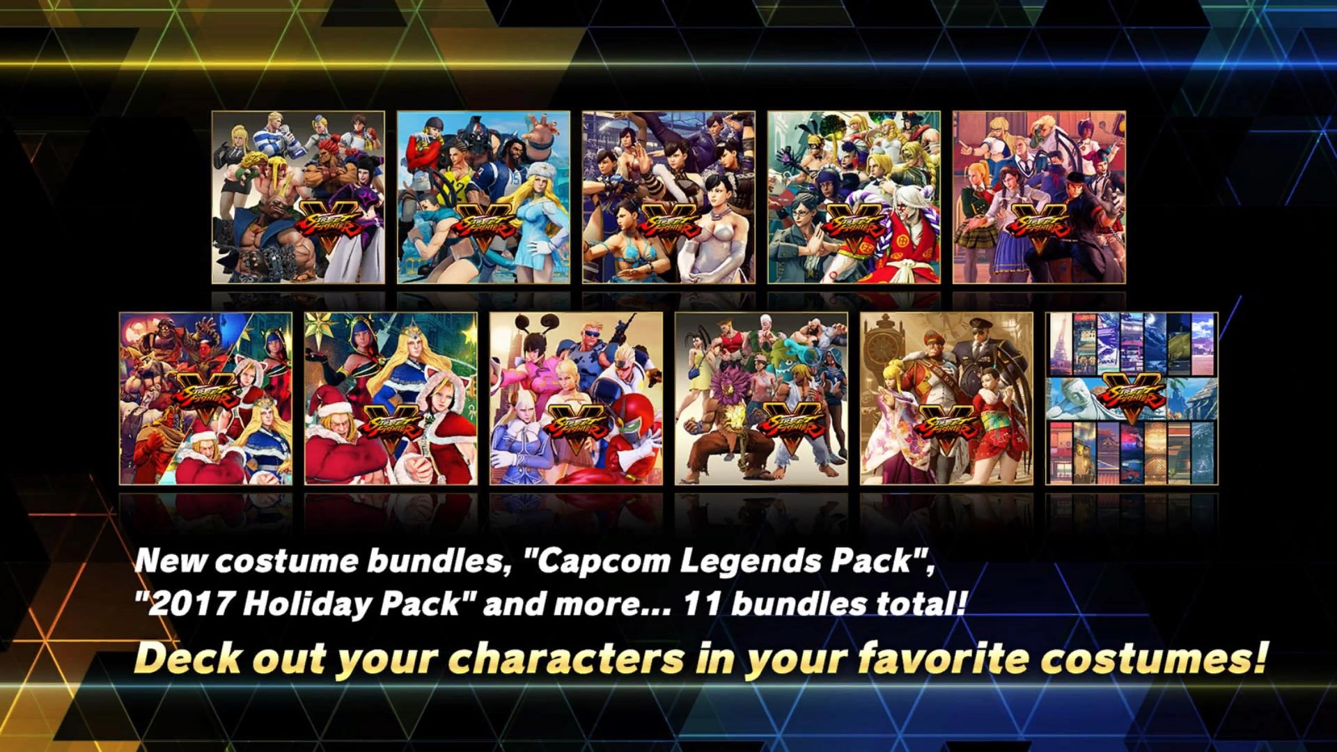 Street Fighter 5: Arcade Edition's sponsored content screenshots 5 out of 6 image gallery