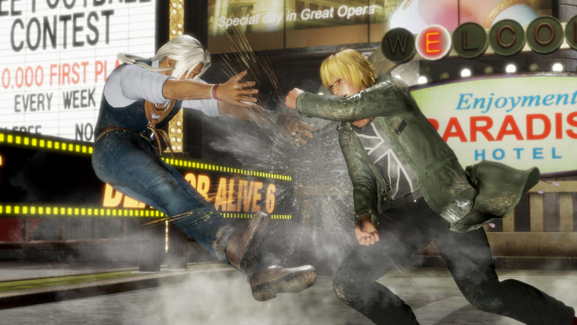 Eliot and Brad Wong in Dead or Alive 6 2 out of 6 image gallery
