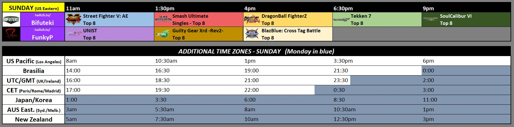 NEC 19 Event Schedule 2 out of 2 image gallery