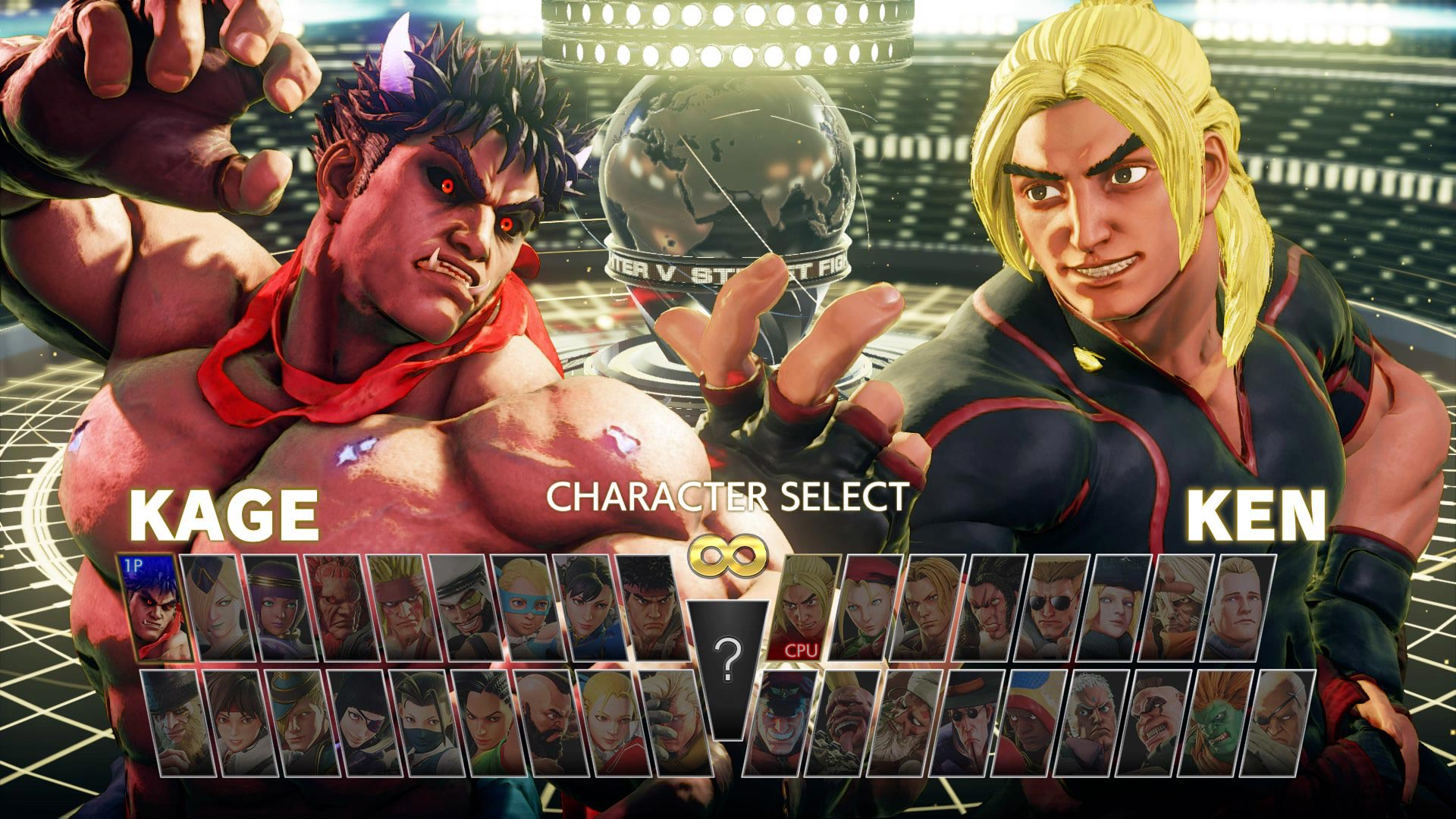 Kage in Street Fighter 5 1 out of 1 image gallery