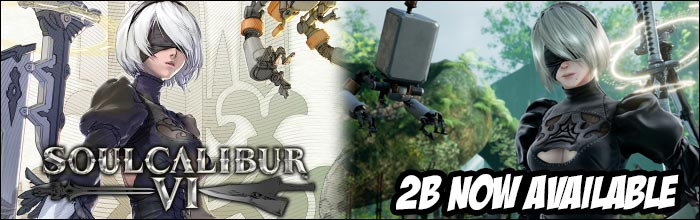 Nier Automata's 2B is now available in Soul Calibur 6