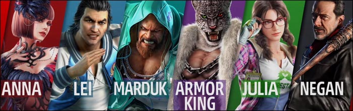 Marduk Julia And Armor King Revealed For Tekken 7 Negan Gameplay
