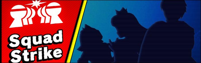Squad Strike is the perfect mode for Super Smash Bros