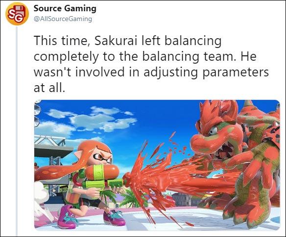 Sakurai on Super Smash Bros. Ultimate's balance 1 out of 1 image gallery