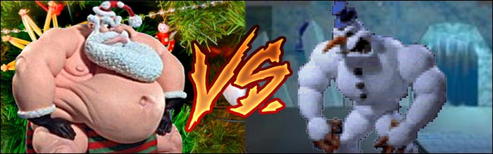 Respects To The Two Best Christmas Themed Fighting Game Characters Of All Time