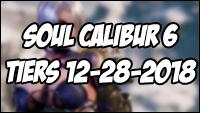 Soul Calibur 6 tier list - end of 2018 image #1