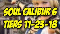Soul Calibur 6 tier list - end of 2018 image #2