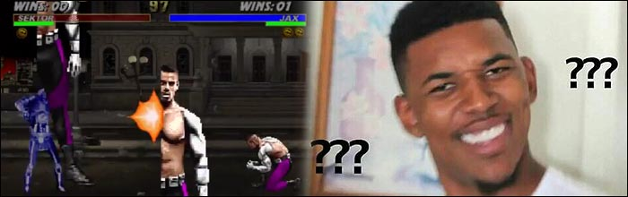 This insane Ultimate Mortal Kombat 3 glitch has me