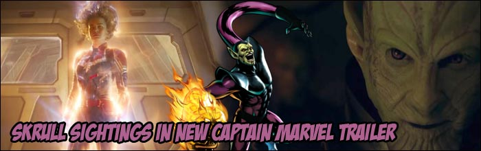 New Captain Marvel Trailer Gives Us A Better Look At Skrulls Might