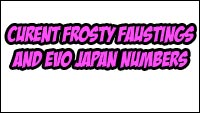 Faust and EVO Japan Numbers image #1