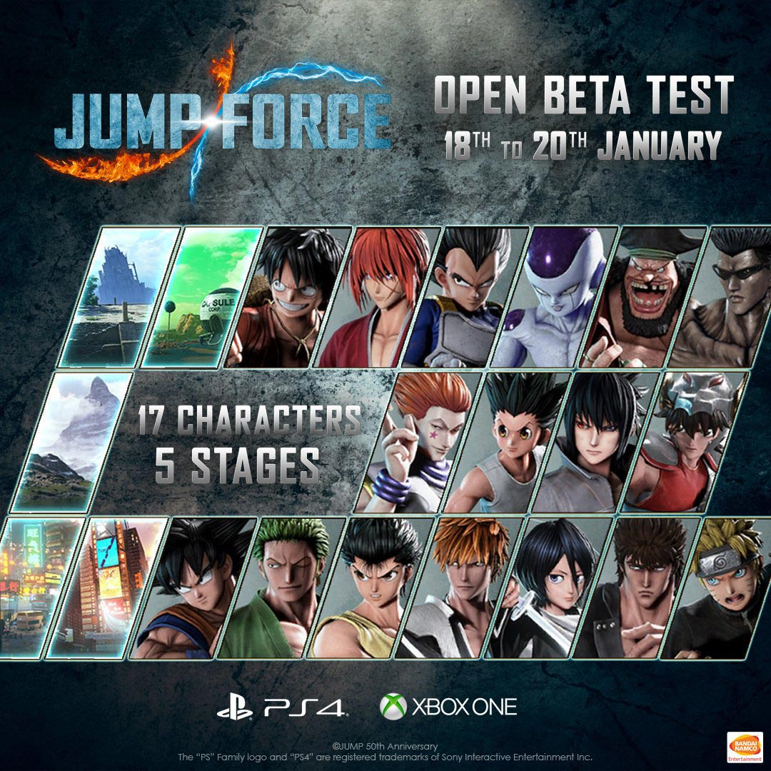Jump Force open beta 1 out of 4 image gallery