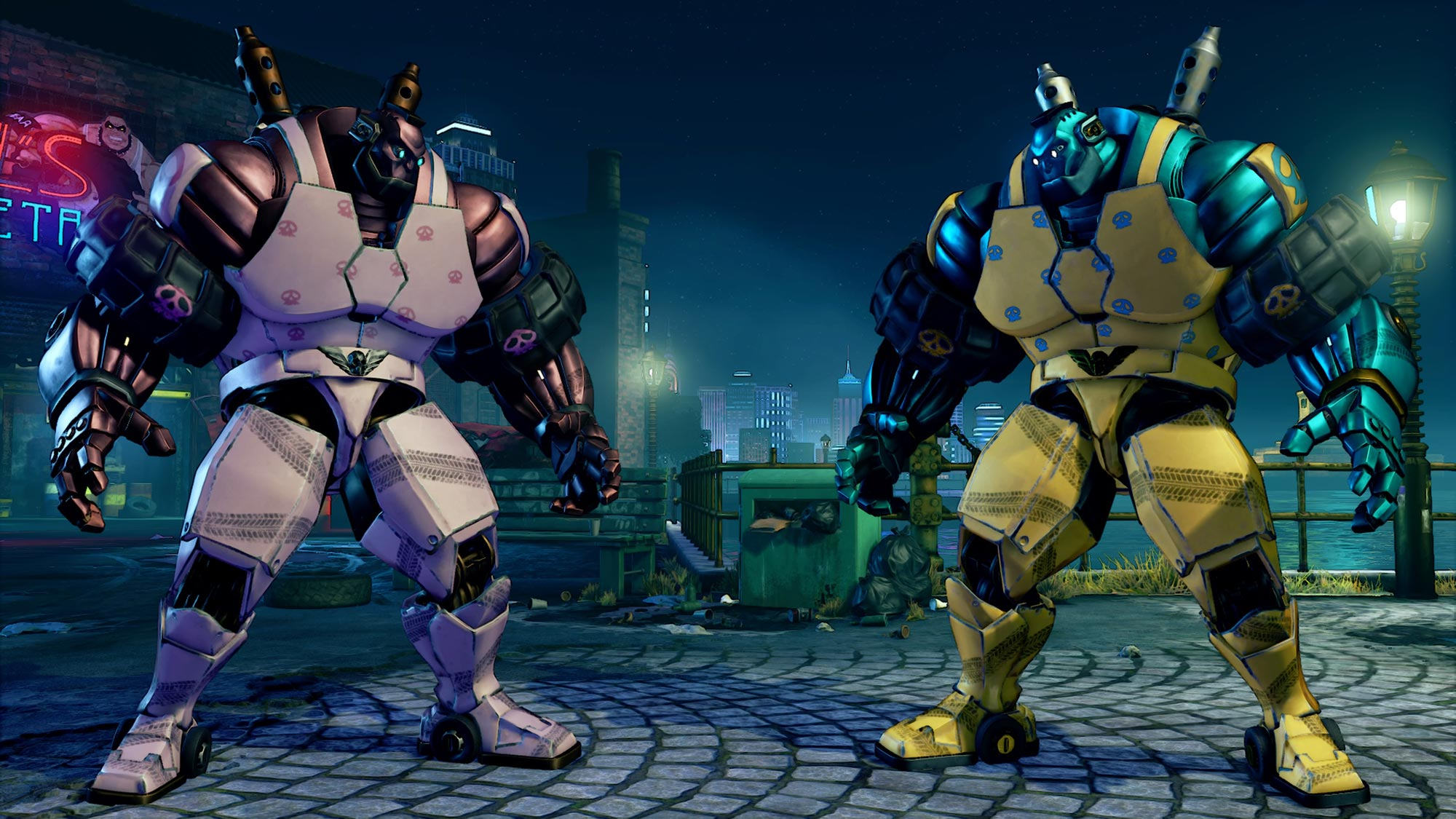 Abigail Mech costume colors and easter egg 5 out of 5 image gallery