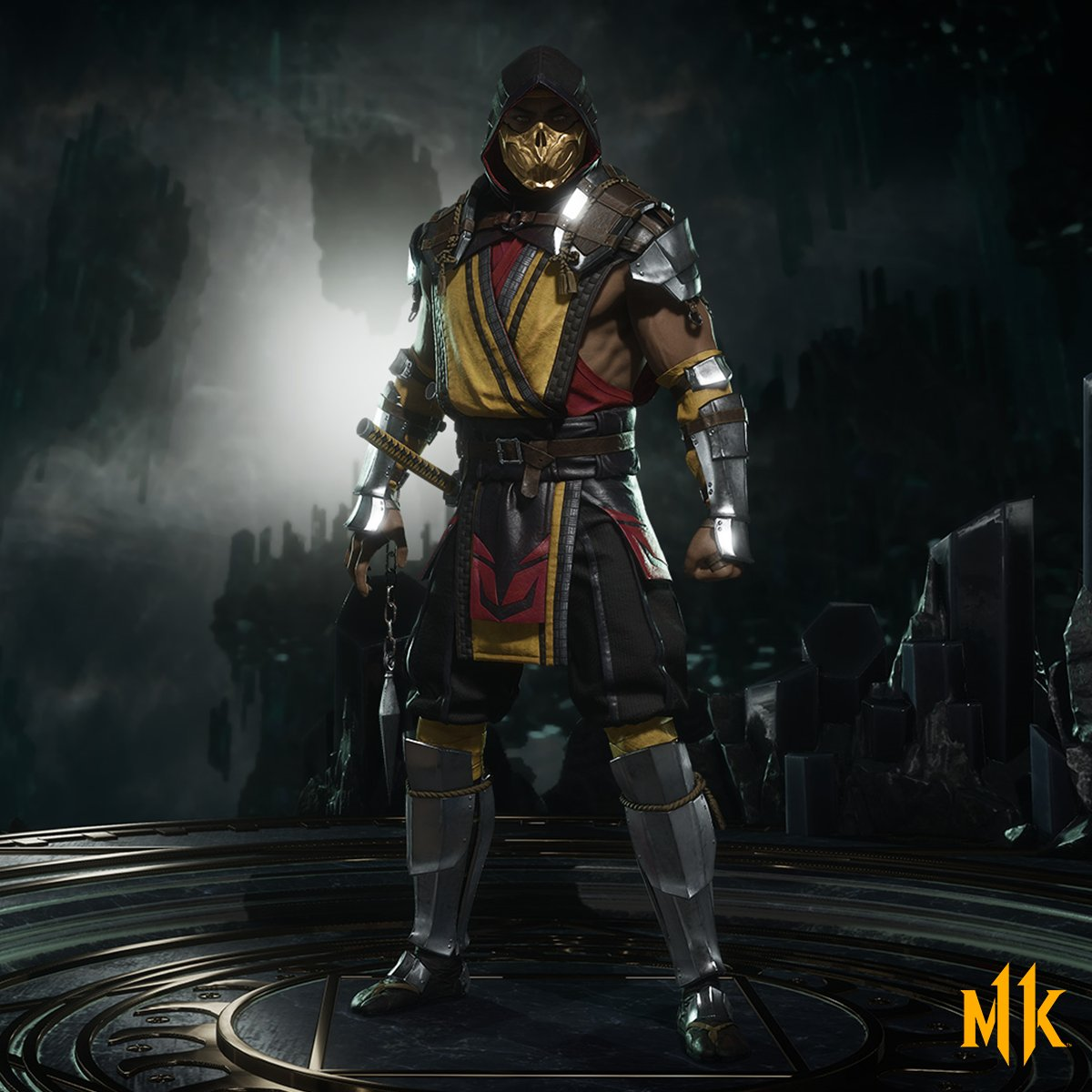 Mortal Kombat 11 Scorpion render 1 out of 2 image gallery