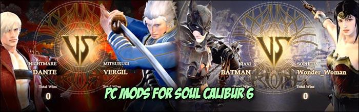 PC mods can improve upon Soul Calibur 6's already impressive