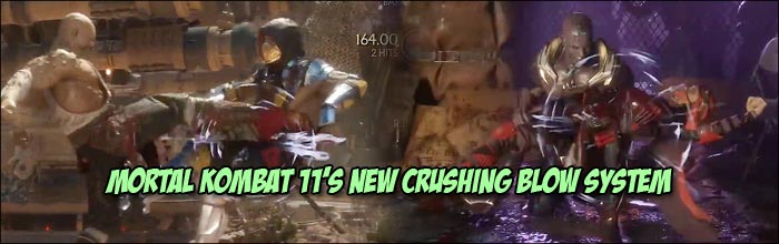Mortal Kombat 11's crushing blows are like Soul Calibur 6's