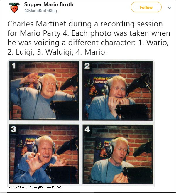 Charles Martinet voice acting sessions 1 out of 2 image gallery
