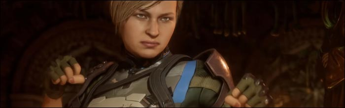 Cassie Cage and Kitana may have been revealed as playable in Mortal