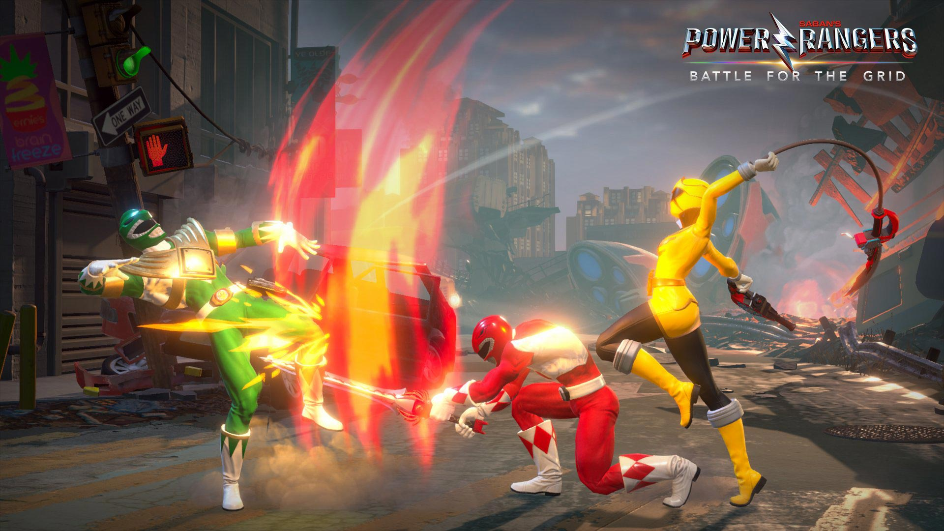 Power Rangers Battle for the Grid official screens 3 out of 6 image gallery