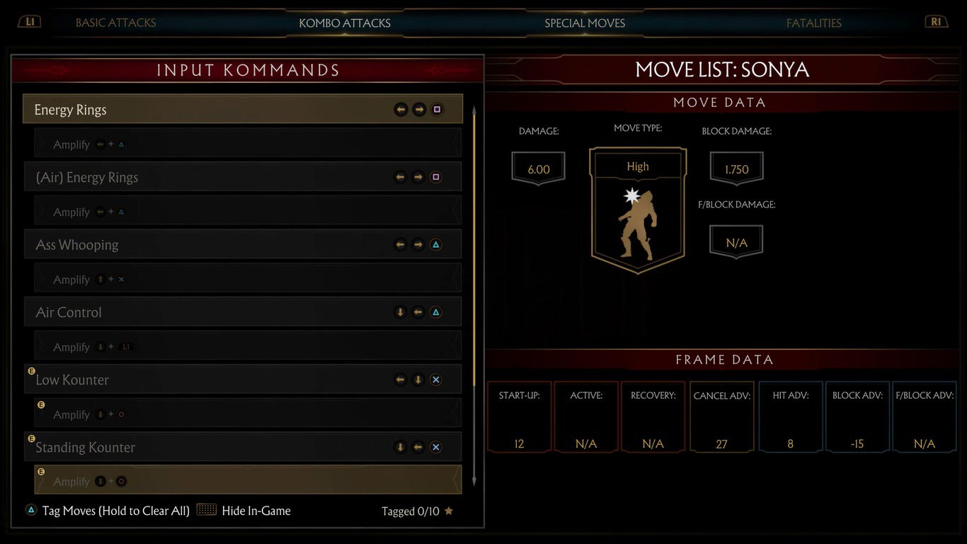 Amplified special moves in Mortal Kombat 11 1 out of 1 image gallery