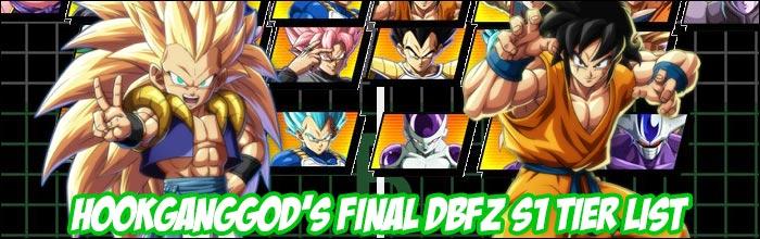 HookGangGod releases his final Dragon Ball FighterZ Season 1