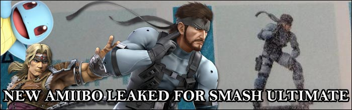 New Super Smash Bros  Ultimate Amiibo reportedly leaked for Snake