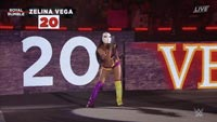 WWE's Zelina Vega as Street Fighter's Vega image #1