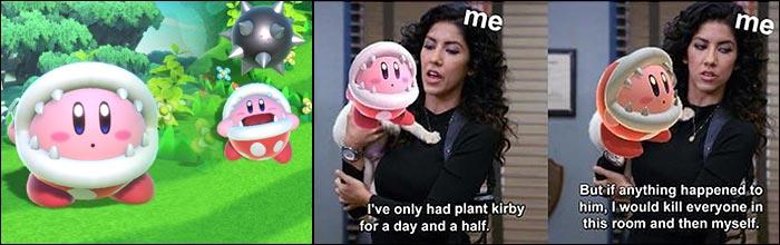 The Internet Loves Piranha Plant Kirby In Super Smash Bros Ultimate