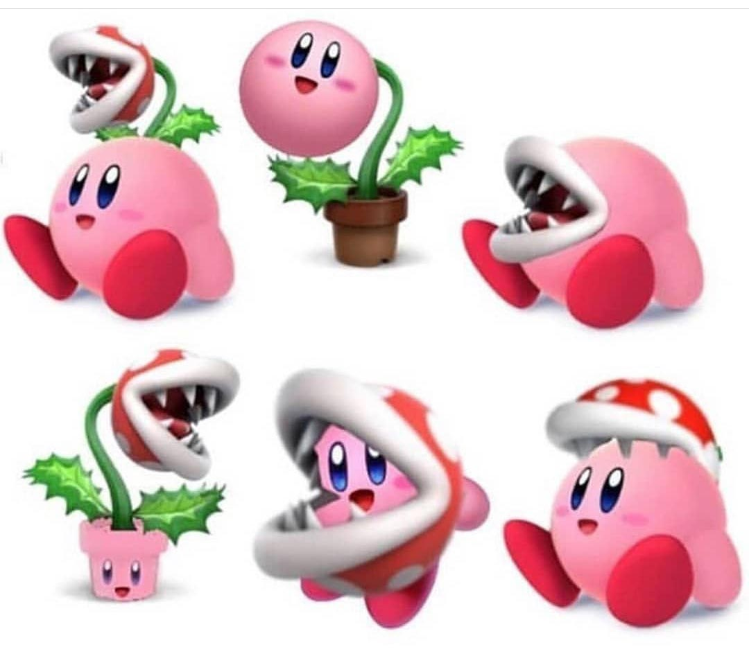 Piranha Plant Kirby Memes Artwork And Reactions 3 Out Of 10