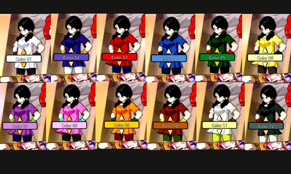 Videl Long-Hair Colors 1 out of 1 image gallery