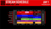 Genesis 6 Event Schedule  out of 3 image gallery