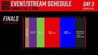 Genesis 6 Event Schedule image #3