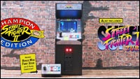 New Wave Toys' Street Fighter 2 mini arcade cabinet image #2