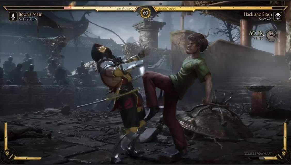 Hack and Slash Shaggy 1 out of 1 image gallery