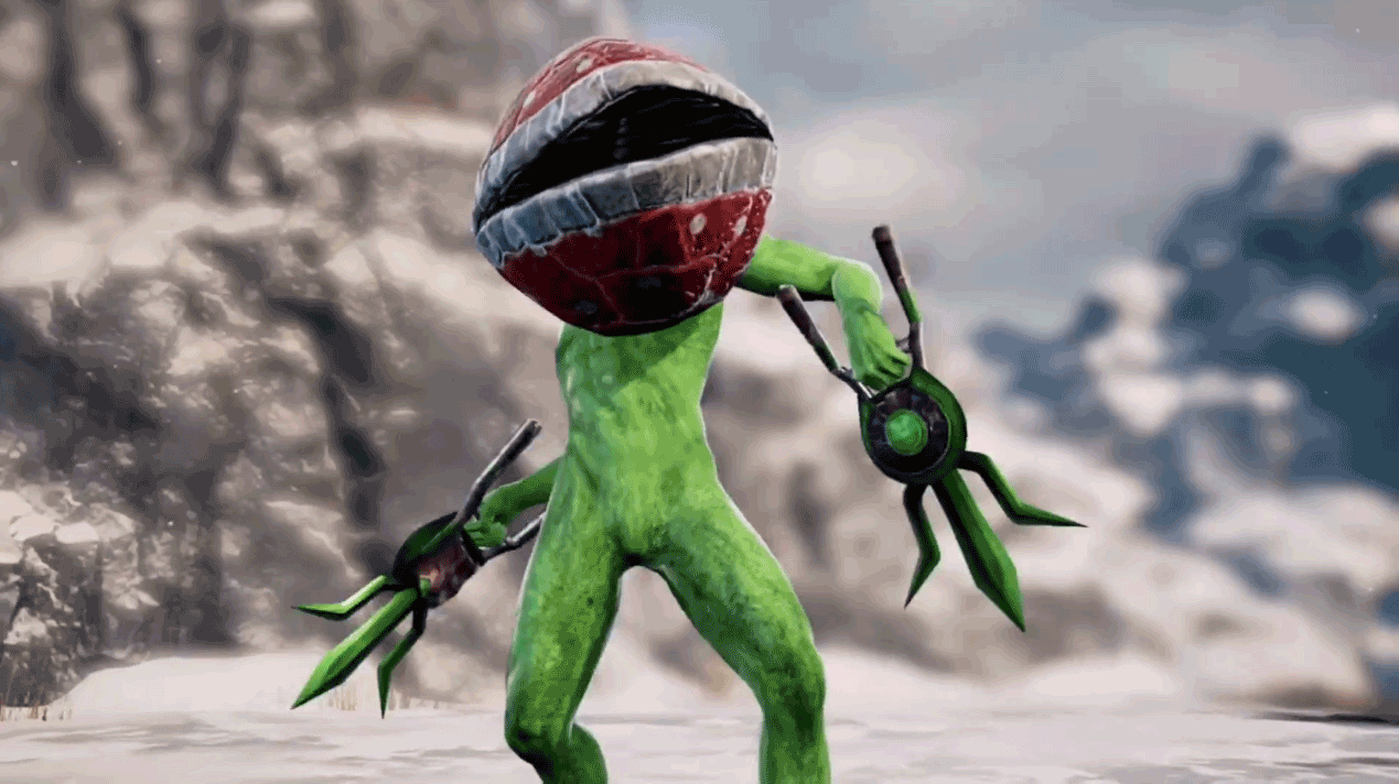Piranha Plant in Soul Calibur 6 5 out of 5 image gallery