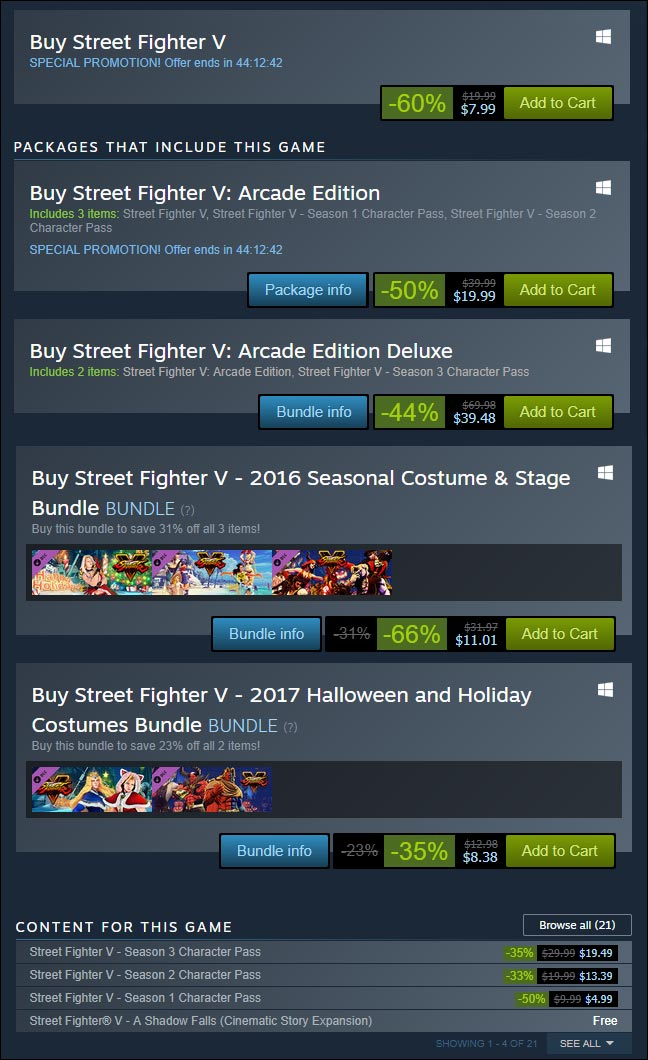 Lunar Steam Sale 1 out of 9 image gallery