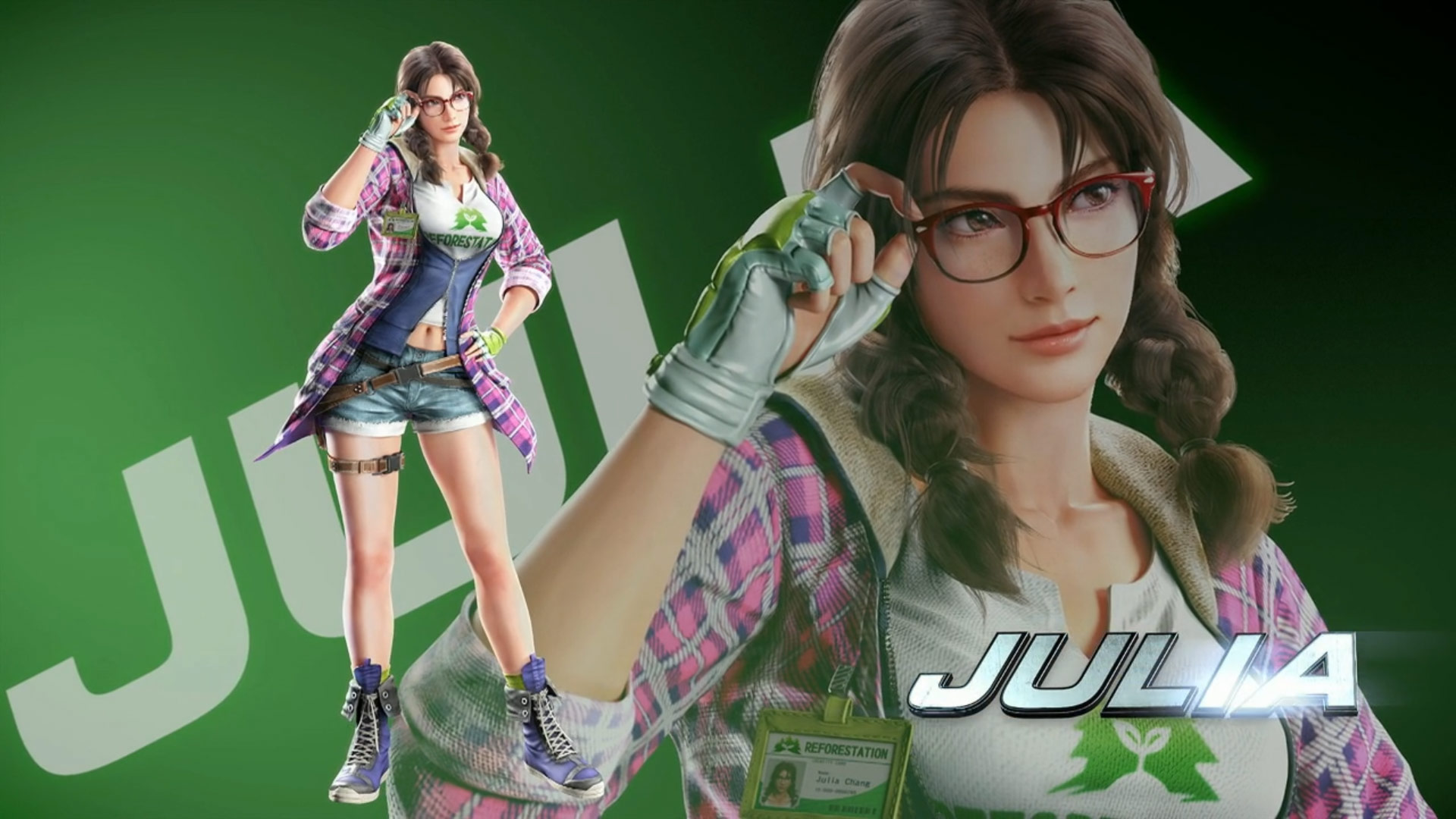 Tekken 7 Julia and Negan Reveal Screenshots 2 out of 12 image gallery