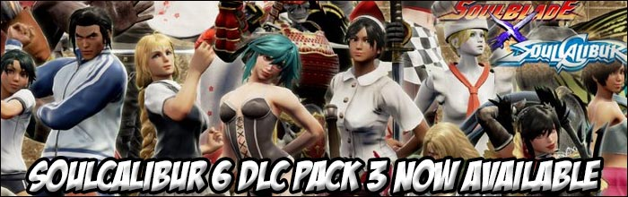 Soul Calibur 6's DLC Pack 3 is now available bringing 67 new costume
