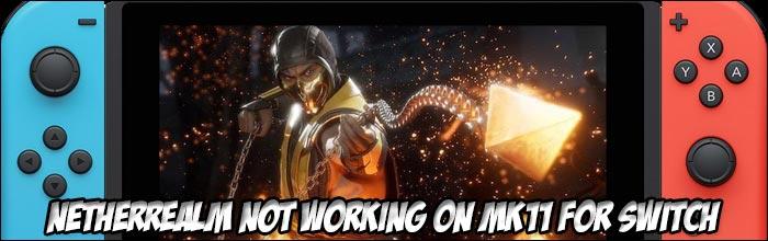 Mortal Kombat 11's Nintendo Switch version is being