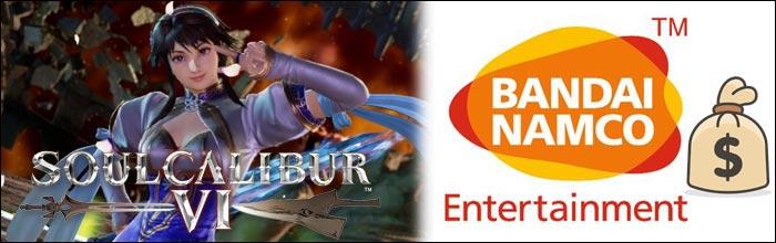 Soul Calibur 6's launch sales were solid according to Bandai Namco