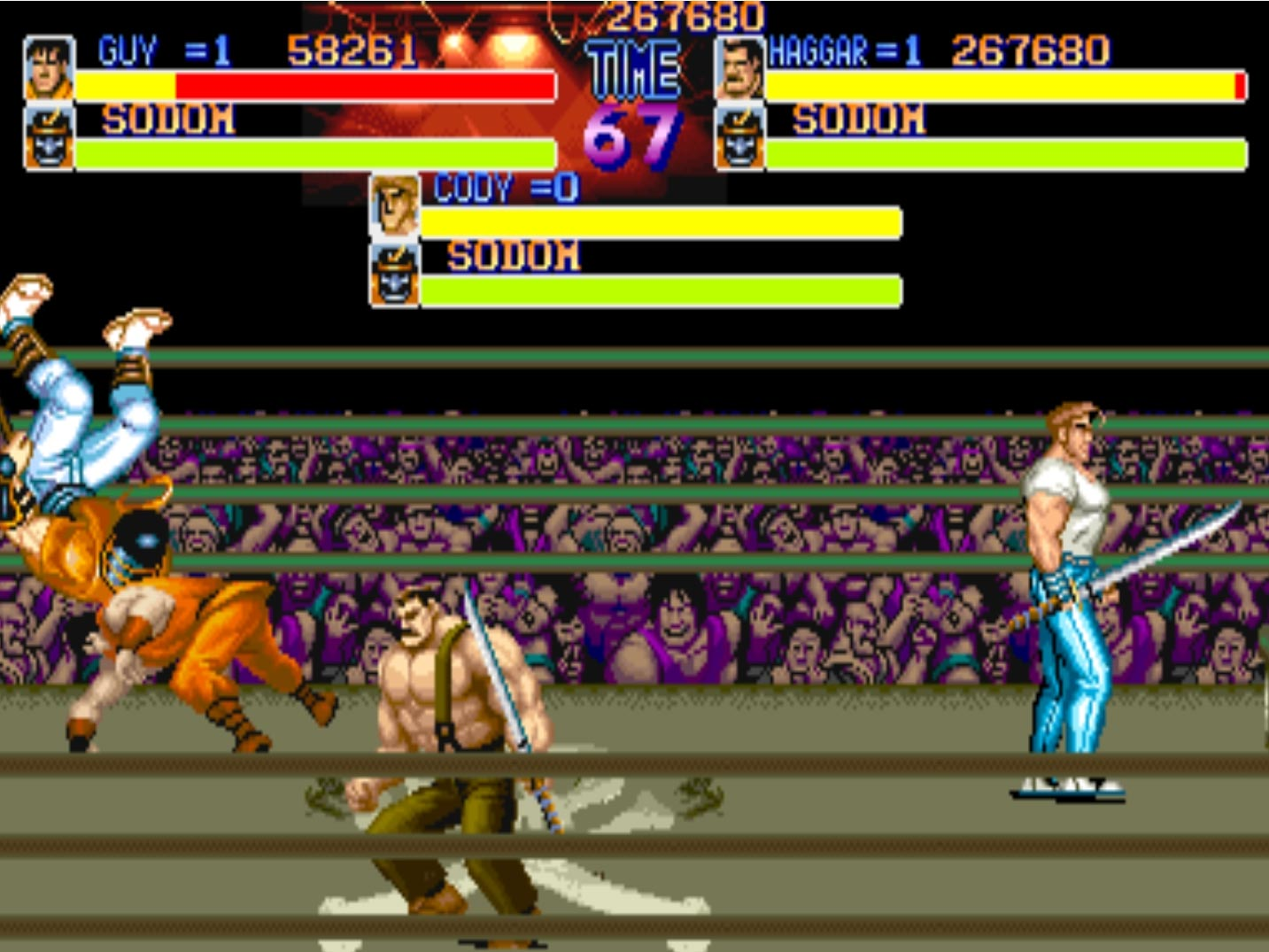 Final Fight X 3 3 out of 5 image gallery