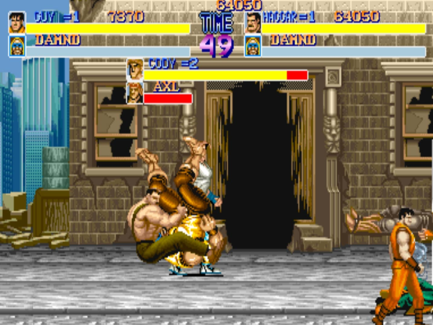 Final Fight X 3 5 out of 5 image gallery