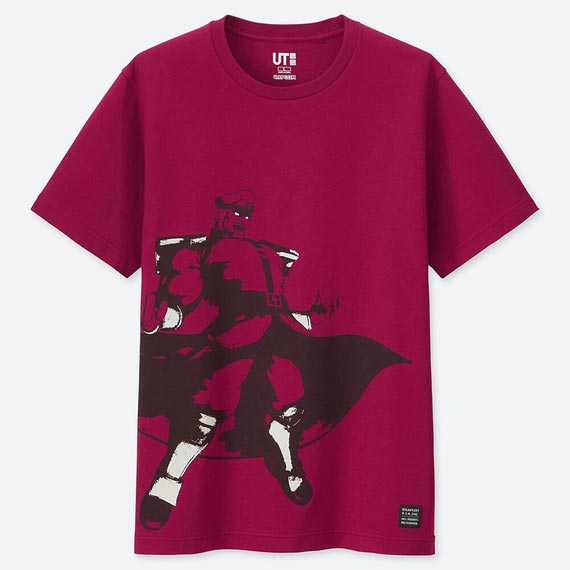 Street Fighter UNIQLO T-shirts 11 out of 17 image gallery