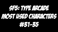 Street Fighter 5: Type Arcade Day 1 statistics image #4