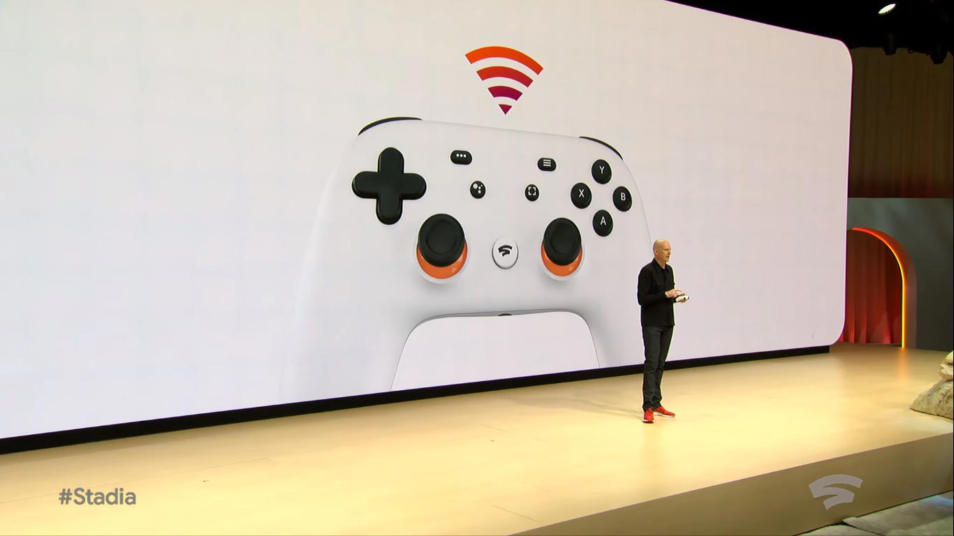 Google Stadia controller 1 out of 5 image gallery