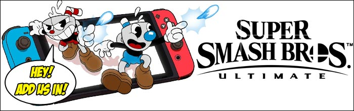 Cuphead should be one of Super Smash Bros  Ultimate's DLC characters