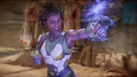 Jacqui Briggs and Kotal Kahn in Mortal Kombat 11 image # 1