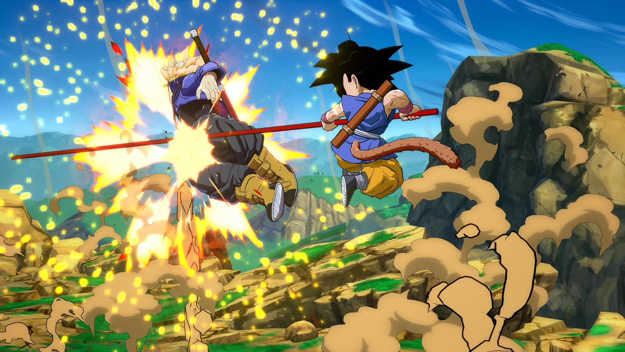 Dragon Ball Gt S Kid Goku Screenshots In Dragon Ball Fighterz 6