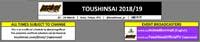 Toushinsai 2019 Event Schedule image #1