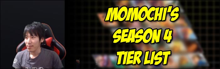 Sfv Tier List 2020.Momochi Releases Street Fighter 5 Season 4 Tier List
