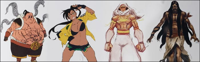 The Street Fighter 5 That Never Was This Early Concept Art